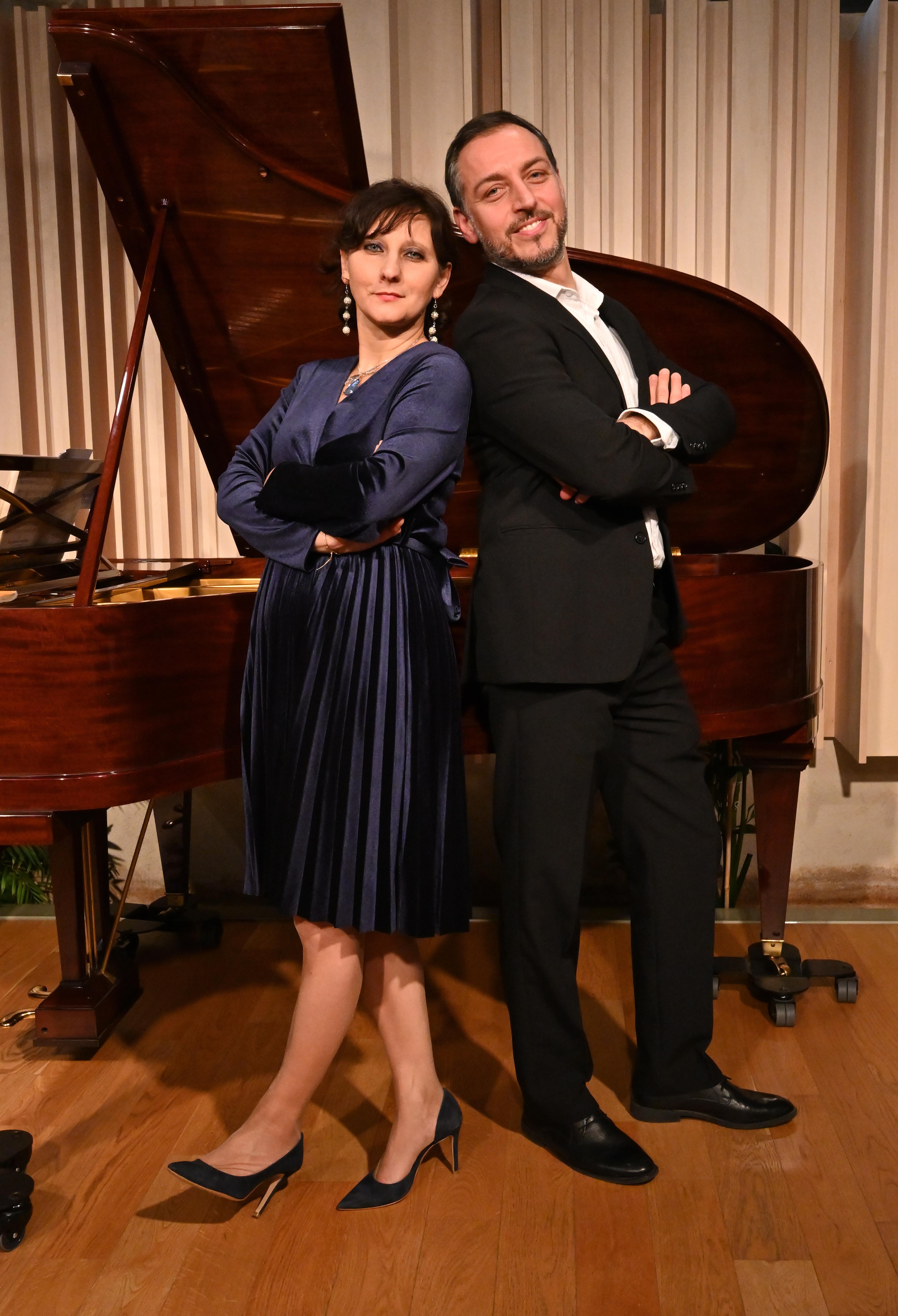 Maria Perrotta, pianiste et Lucio Prete , baryton